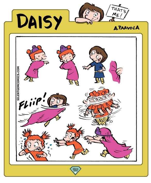 daisy weekly comic